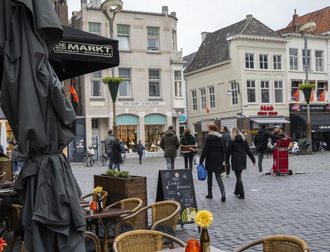 De Grote Markt in Breda